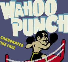 Wahoo Punch Sticker