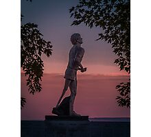 Terry Fox Memorial Photographic Print