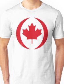 Canadian Flag 1.0 Unisex T-Shirt