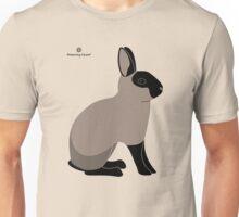 Black Sable Rabbit Unisex T-Shirt