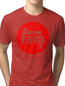 Old Toyota Logo, Japan Tri-blend T-Shirt