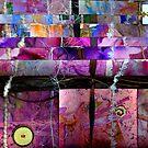 Altered Art Weaving Detail 1 by Dana Roper