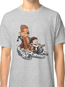 Chewie And Han Calvin And The Hobbes Classic T-Shirt