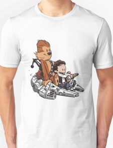 Chewie And Han Calvin And The Hobbes Unisex T-Shirt