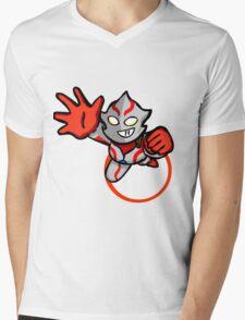 Ultraman Mebius [ Rise Up ] Mens V-Neck T-Shirt