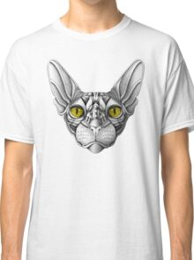 Ornate Sphynx Cat Classic T-Shirt
