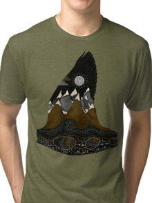 Wild Duck Spirit Totem Tri-blend T-Shirt