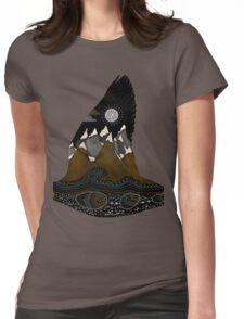 Wild Duck Spirit Totem Womens Fitted T-Shirt