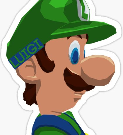 Mario's Brother Sticker