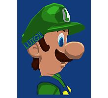 Mario's Brother Photographic Print