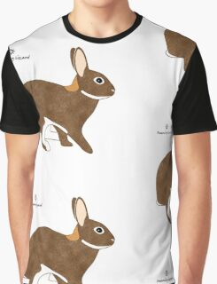 Chestnut Agouti Rabbit Graphic T-Shirt