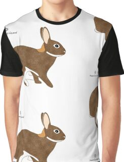 Chestnut Agouti Rabbit Graphic T-Shirt