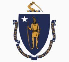 Flag of Massachusetts One Piece - Long Sleeve