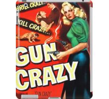 Gun Crazy - Film Noir Poster iPad Case/Skin