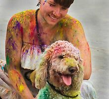HOLI Indian Color Festival...Together! by Heather Friedman