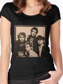 Vintage Duran Duran Cover Women's Fitted Scoop T-Shirt