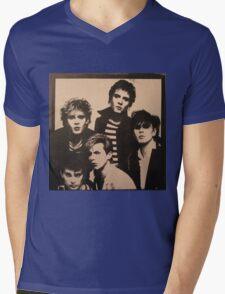 Vintage Duran Duran Cover Mens V-Neck T-Shirt