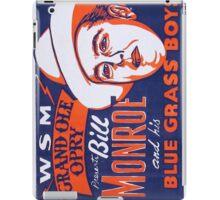 Bill Monroe Blue Grass iPad Case/Skin