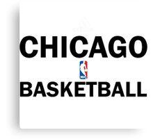 Chicago Bulls Basketball Training Design Canvas Print
