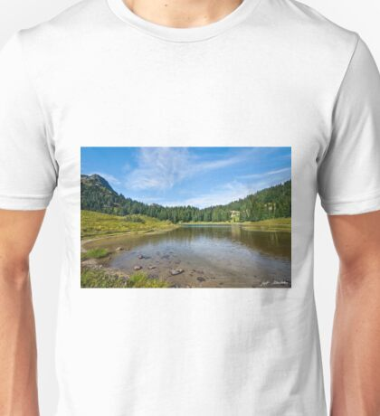 Tipsoo Lake and Meadow Unisex T-Shirt