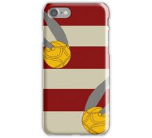 Harry Potter Quidditch Gryffindor Snitch Design iPhone Case/Skin