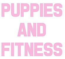 Puppies and Fitness Photographic Print