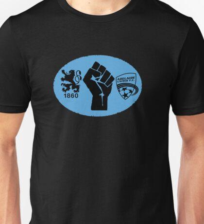 1860 Munich / Adelaide United Friendship Unisex T-Shirt