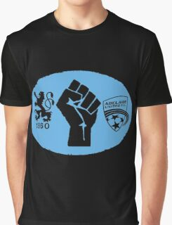 1860 Munich / Adelaide United Friendship Graphic T-Shirt