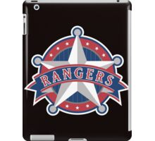 Texas Rangers Star iPad Case/Skin