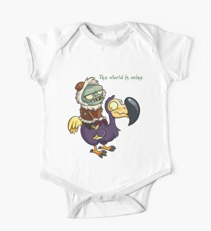 Plants vs Zombies The World Is Mine  One Piece - Short Sleeve