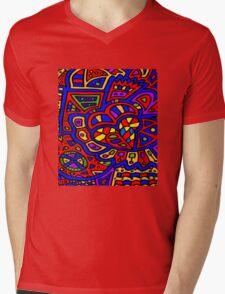Abstract #414 Mens V-Neck T-Shirt