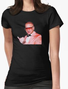 Riff Raff Peach Suit Womens Fitted T-Shirt