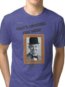 Stan Laurel Birthday Anniversary Tri-blend T-Shirt