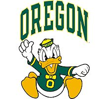Oregon Ducks Photographic Print