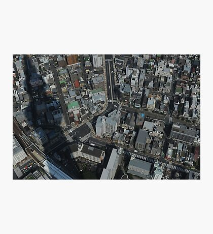 View Down From Skytree (Tokyo, Japan) Photographic Print