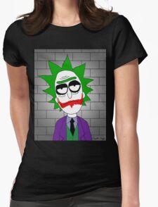 Joker Rick Womens Fitted T-Shirt