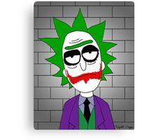 Joker Rick Canvas Print