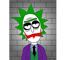 Joker Rick Photographic Print
