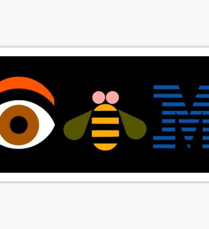 IBM - Eye Bee M Sticker