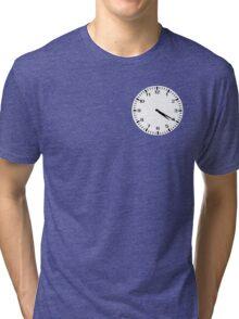 Clock at 4:20 - Marijuana Tri-blend T-Shirt
