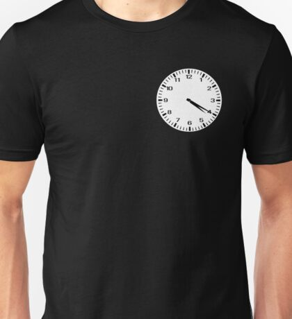 Clock at 4:20 - Marijuana Unisex T-Shirt