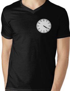 Clock at 4:20 - Marijuana Mens V-Neck T-Shirt