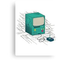 old console Canvas Print