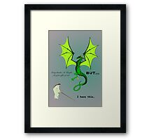 Sabra and the Dragon Framed Print