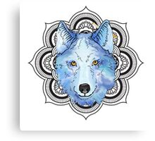 Winnie Blue  Canvas Print