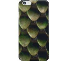 Green Reptile scales iPhone Case/Skin