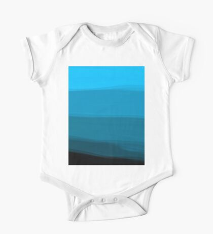 Ombre (All Blue) One Piece - Short Sleeve