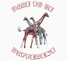 Dare to Be Different 4 Kids Tee