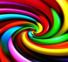Trippy Swirly Lollipop Sticker