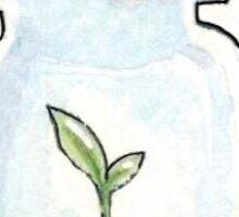 Plant in a jar Sticker